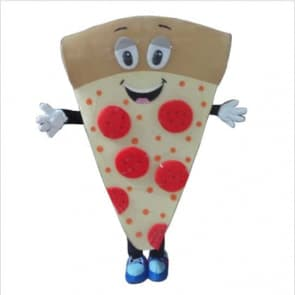 Giant Pizza Mascot Costume