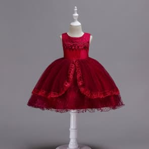 Goldie Floral Crochet Girls Wedding Tutu Princess dress